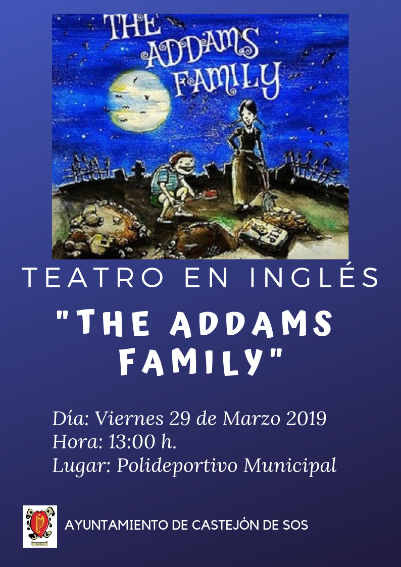 Teatro en inglés THE ADDAMS FAMILY 29 03 19